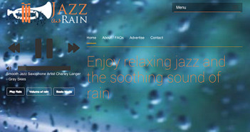 Jazz and rain; Rechte: jazzandrain.com