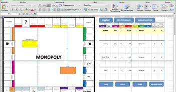 Monopoly in Excel; Rechte: WDR/Dennis Horn
