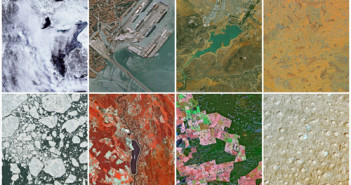 "Aerial Wallpapers; Rechte: Airbus/NASA"""