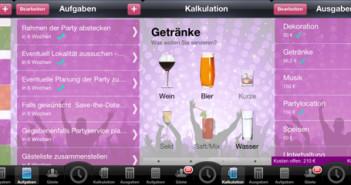 Party- und Eventplaner; Rechte: eys-apps.de