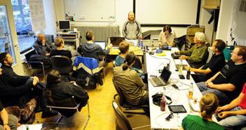Cryptoparty; Rechte: picture-alliance/dpa/Daniel Reinhardt