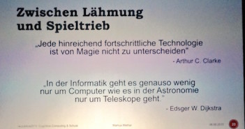 Cognitive Computing; Rechte: Markus Mathar/Präsentation republica 2015