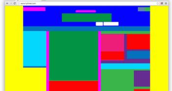Abstract Browser: Webseten auf ihre Grundbausteine reduziert; Rechte: WDR