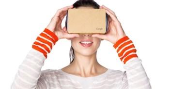 Verkaufsschlager Google Cardboard; Rechte: Google