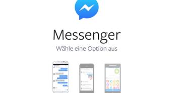 Neue Facebook Messenger App; Rechte: Facebook/WDR