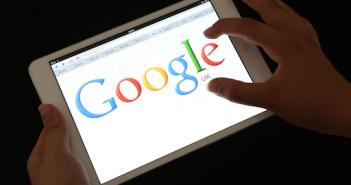 Google im Tablet, Rechte: dpa/Picture Alliance
