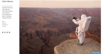 Mars-Selfie; Rechte: Webseite Julien Mauve
