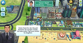 Simcity; Rechte: EA/Horn