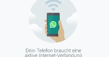 WLAN oder Mobilnetz reichen für VoIP-Anrufe; Rechte: Whatsapp