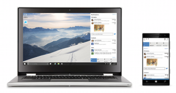 Universal Apps laufen auf jedem Gerät mit Windows 10; Rechte: Microsoft