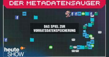 Metadatensauger; Rechte: ZDF