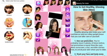 Collage Beauty-Apps; Rechte: WDR/Horn/Apps