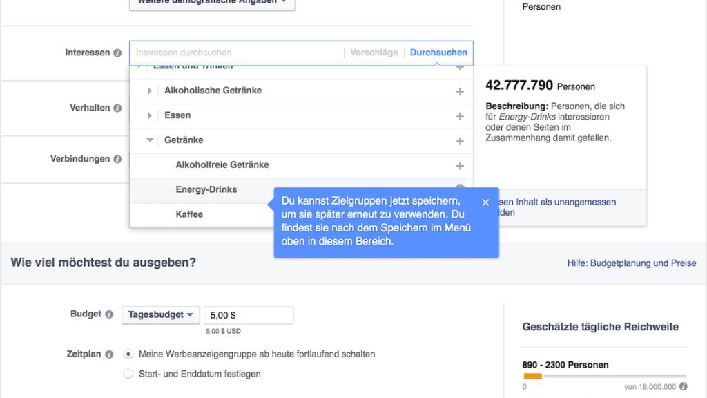 Facebook Anzeige schalten; Rechte: WDR/Schieb