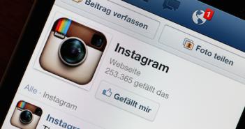 Instagram: Quadratische Fotos gehen immer noch, sind aber kein Muss mehr; Rechte: dpa/Picture Alliance