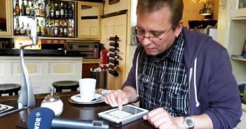 Andreas Schulz aus Bochum geht das erste mal online