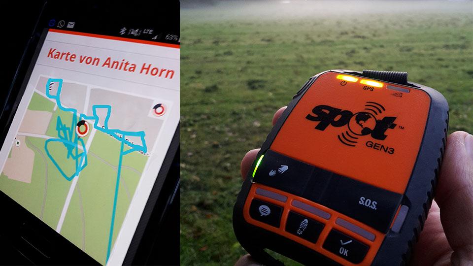 GPS-Live-Tracking via Handy