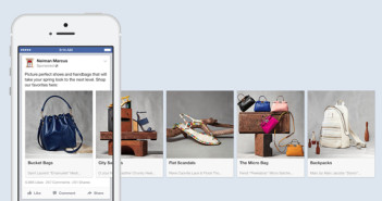 Shopping bei FacebooK; Rechte: Facebook
