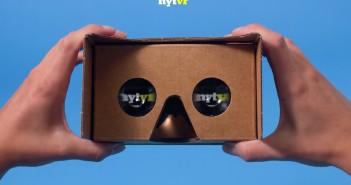Google Cardboard mit App der New York Times; Rechte: NYT