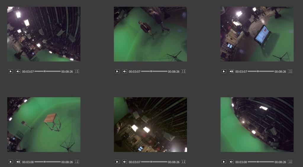 Das sehen die sechs Kameras; Rechte: WDR/Ohrndorf