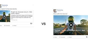 Größere Videos auf Facebook; Rechte: YT2FB/WDR