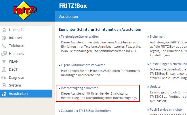 fritzbox_admin; Rechte: AVM
