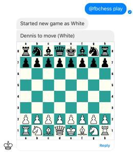 Schach im Messenger