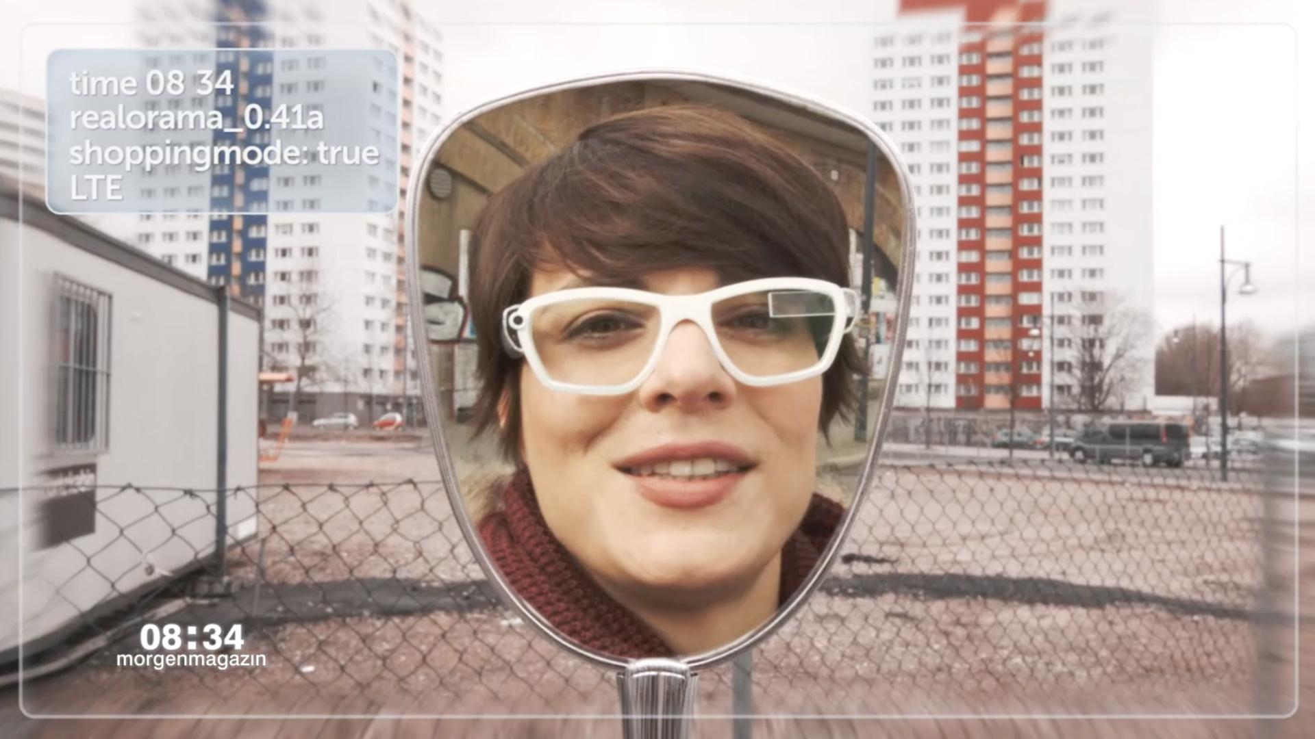 Selfie mit der Datenbrille