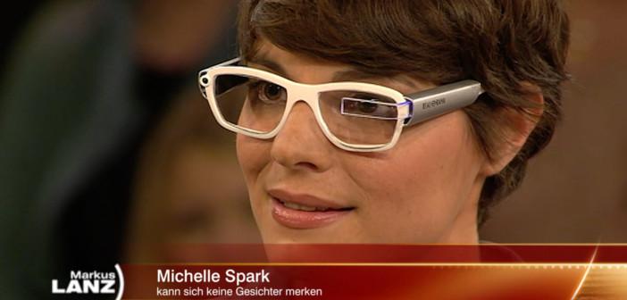 Michelle Spark zu Gast bei Markus Lanz.Michelle Spark (Sarah Rebecca Gerstner) zu Gast bei Markus Lanz