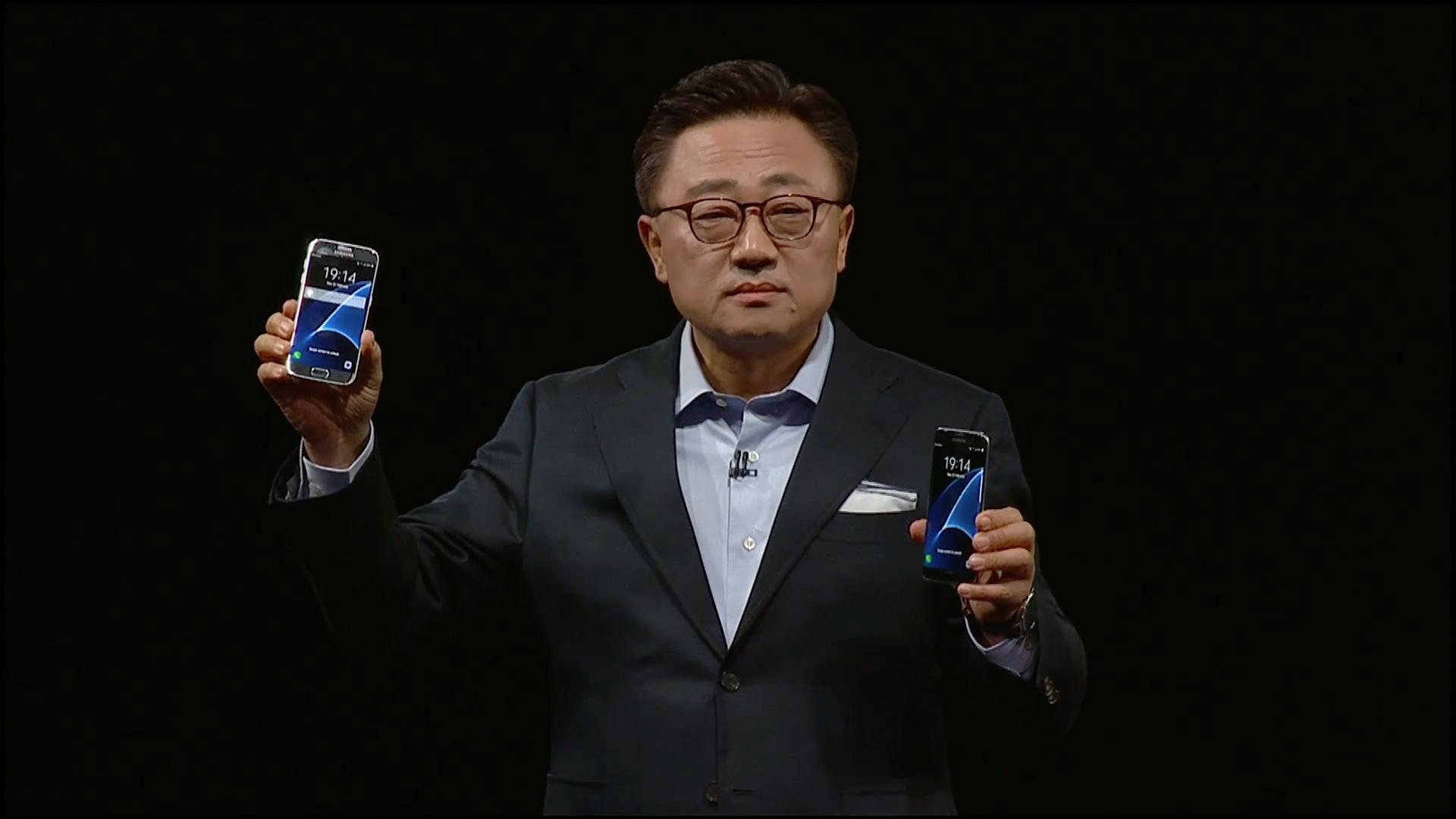 Präsentation von Galaxy S7 und Galaxy S7 edge