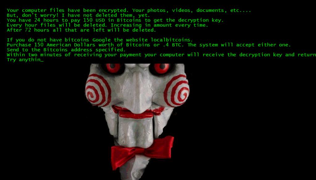 Screenshot Jigsaw Trojaner; Rechte: WDR