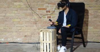 Mann mit VR-Brille; Rechte: WDR/Ohrndorf