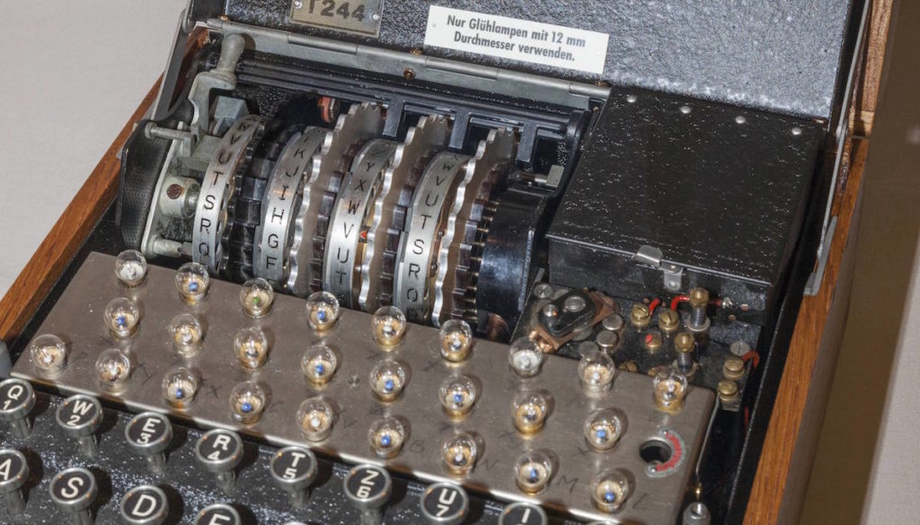 Chiffriermaschine Enigma: Damit hat Kryptografie angefangen
