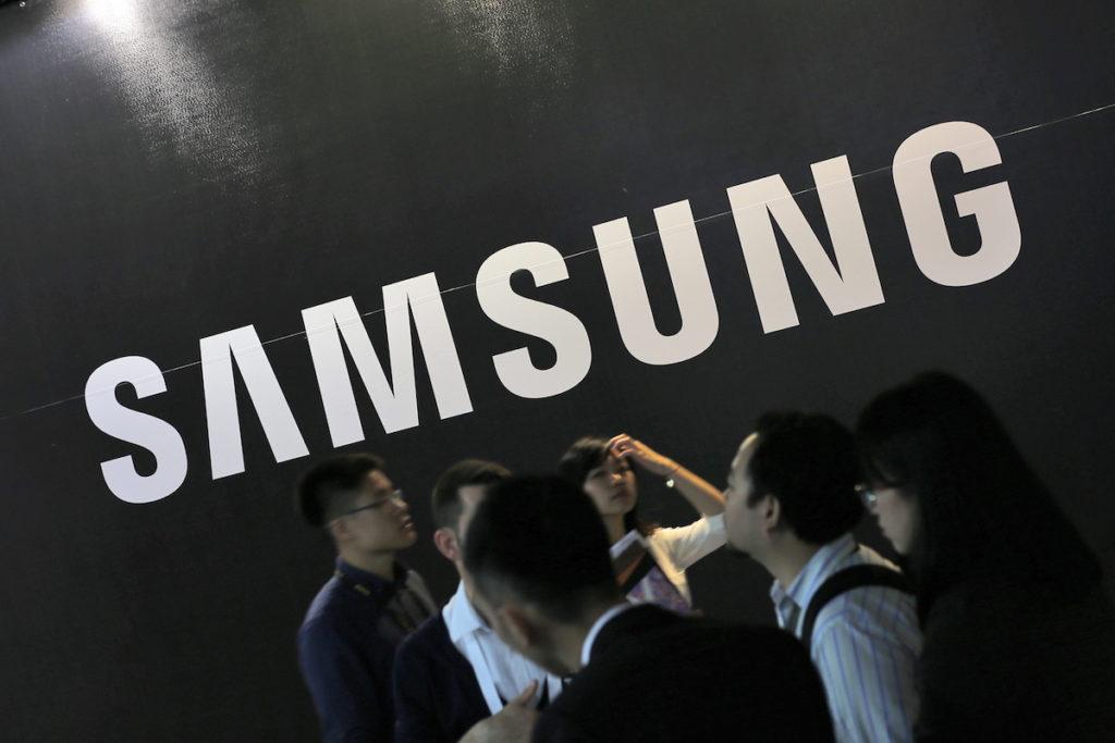 Samsung Logo; Rechte: dpa/Picture Alliance