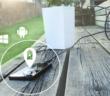 Smartphone aufladen mit Bioenergie; Rechte: Bioo Lite