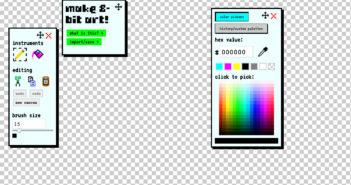 make 8-bit art!
