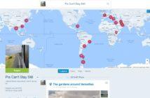 Online-Tagebuch für Leute auf Reisen