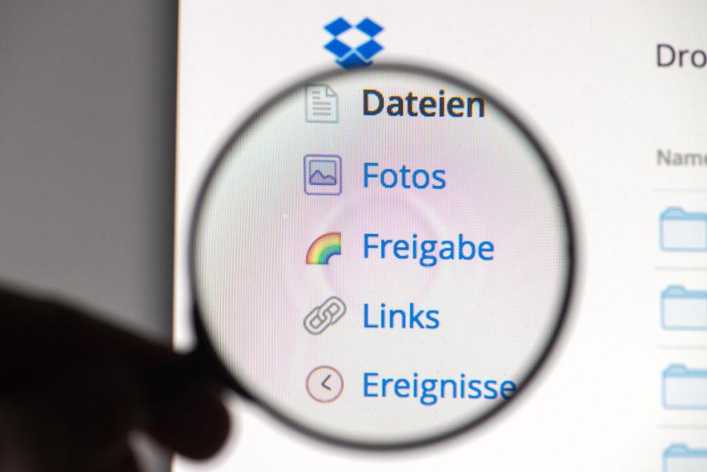 Genau hinschauen: 68 Millionen Dropbox-User wurden gehackt