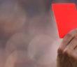 Rote Karte: Gibt's im Sport, aber nicht in der Wirtschaft