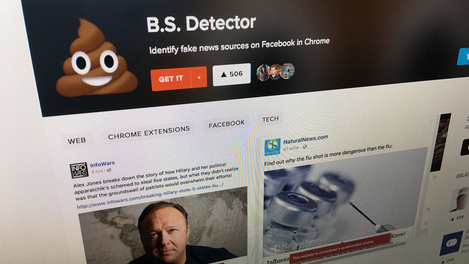 B.S. Detector
