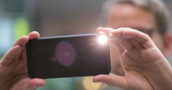 Smartphone-Blitz