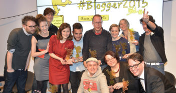 Die Goldenen Blogger 2015