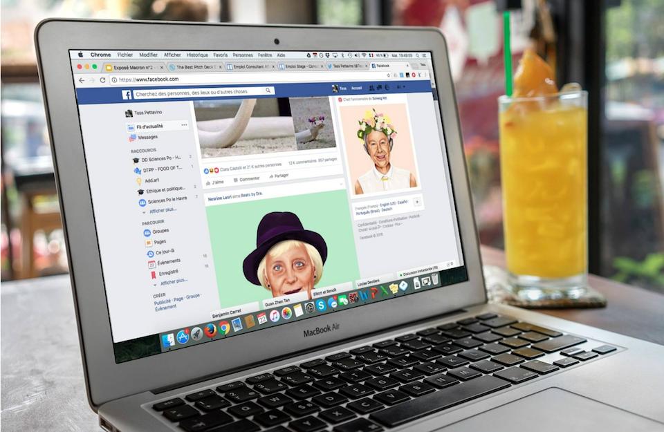Feedart ersetzt Reklame in Facebook durch Kunstwerke; Rechte: Feedart