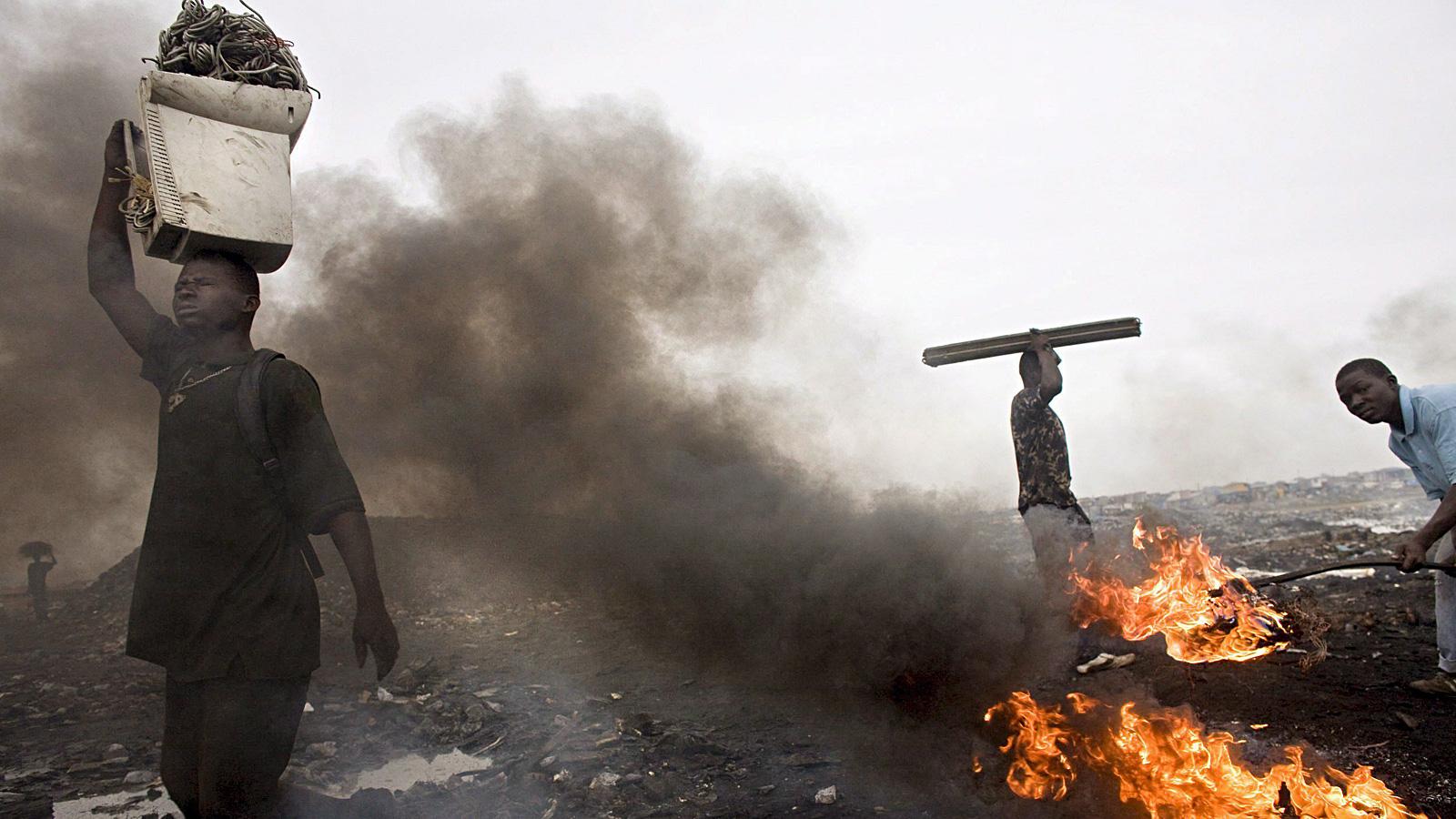 Elektroschrott-Müllkippe in Agbogbloshie