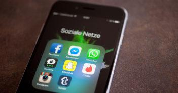 Apps sozialer Netzwerke