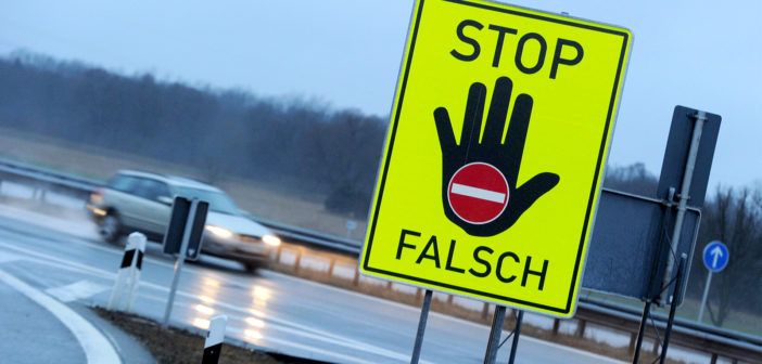 Stop! Falsch!