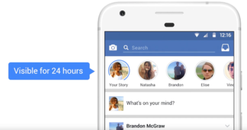 Facebook Stories: Bildgeschichten sind 24h sichtbar; Rechte: Facebook
