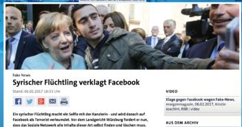 Das Selfie mit Kanzlerin Merkel wurde häufig missbraucht; Rechte: tagesschau.de