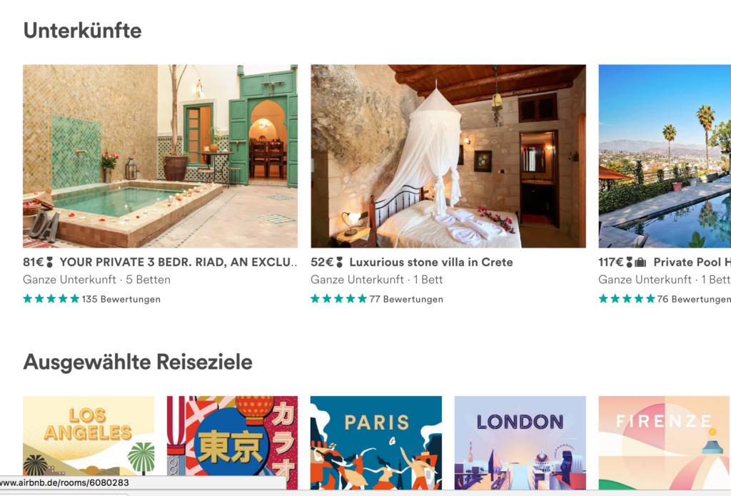 Airbnb vermittelt Wohnungen, die anderen gehören; Rechte: Airbnb/WDR