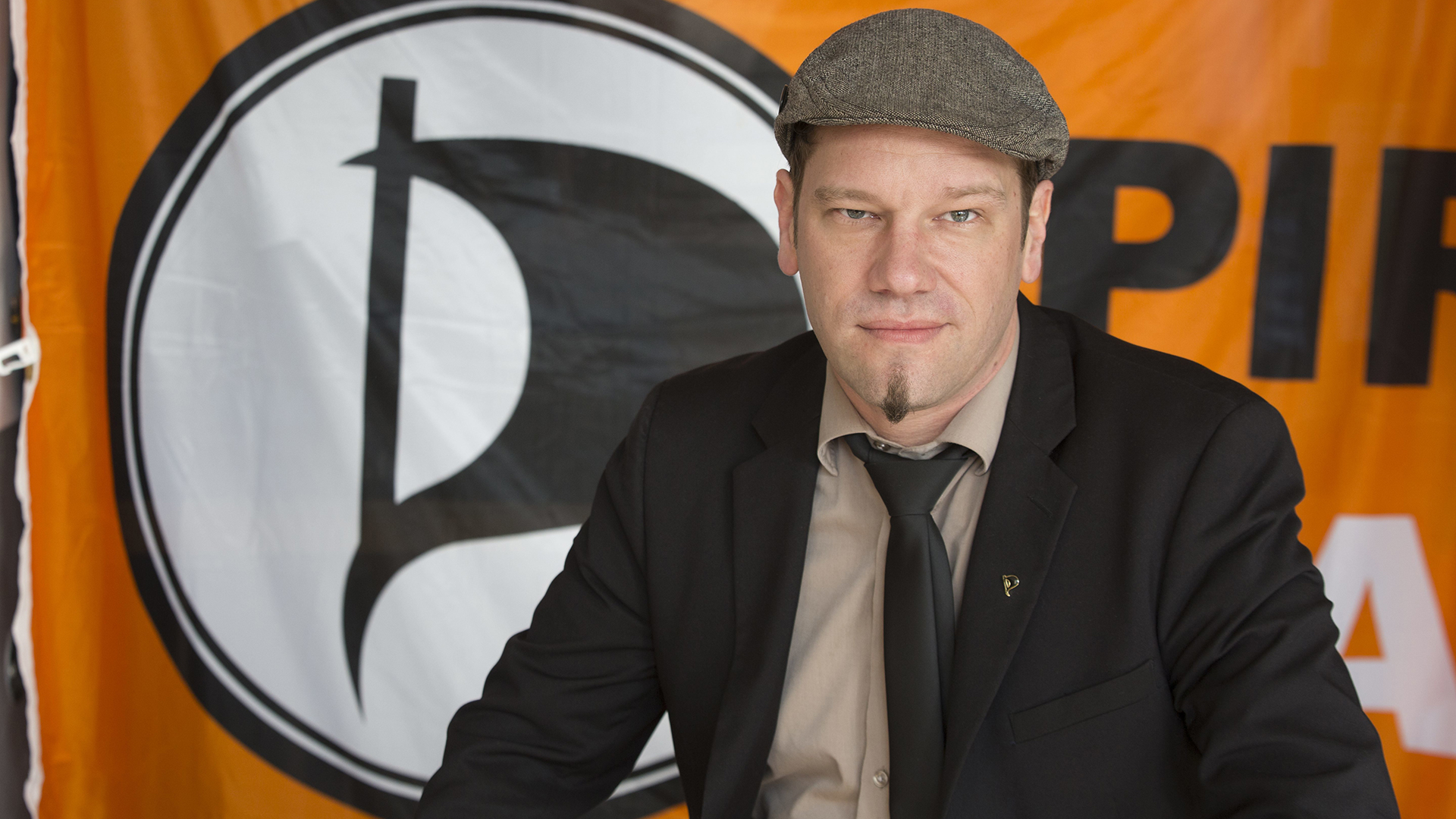 Piratenpartei-Chef Patrick Schiffer