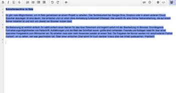 Texte online erstellen und bearbeiten; Rechte: WDR